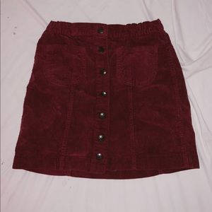 Brandy Melville corduroy skirt.